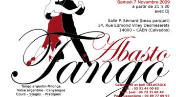 rencontre internationale de tango argentin